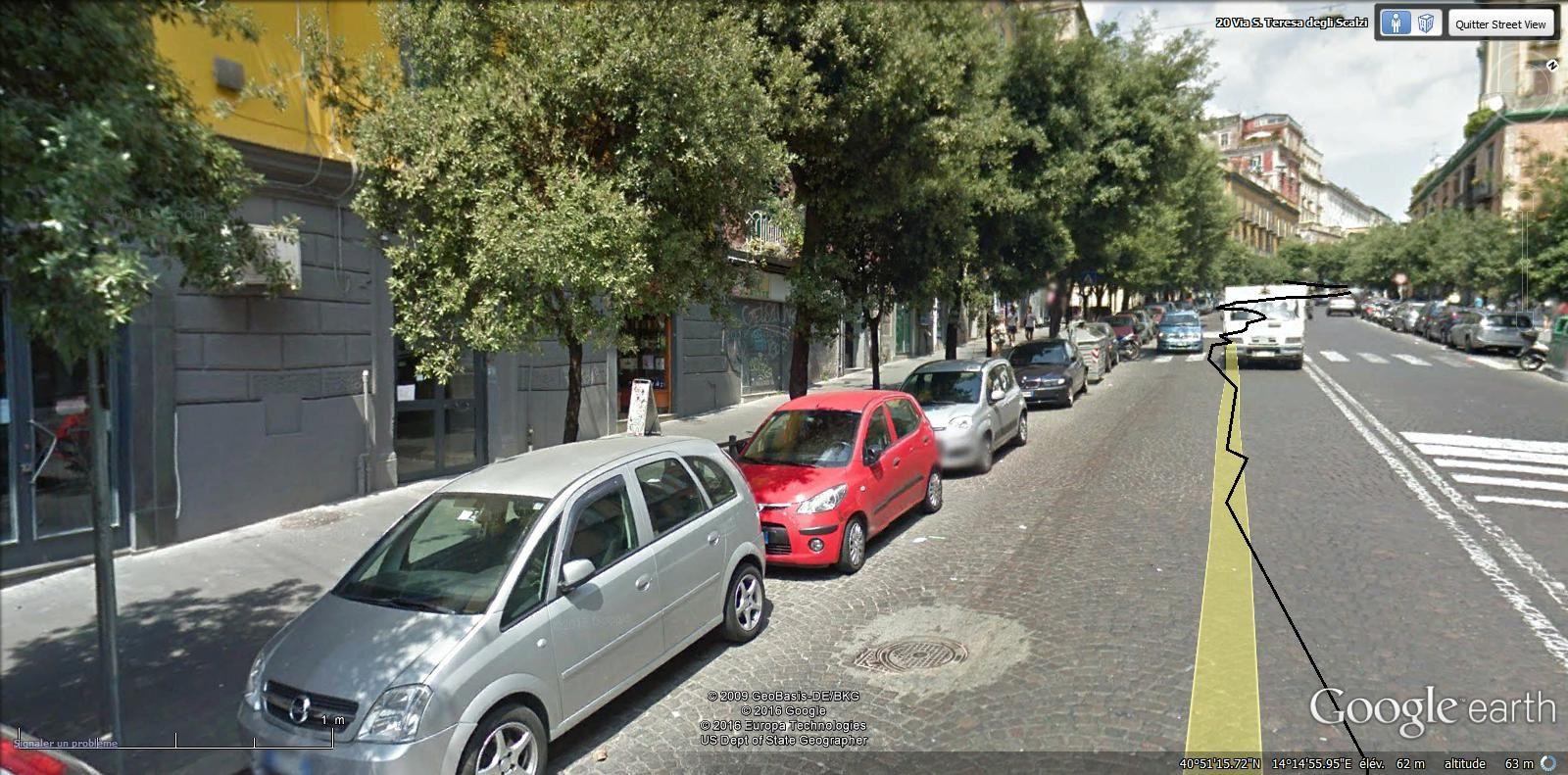 via Santa Teresa degli Scalzi