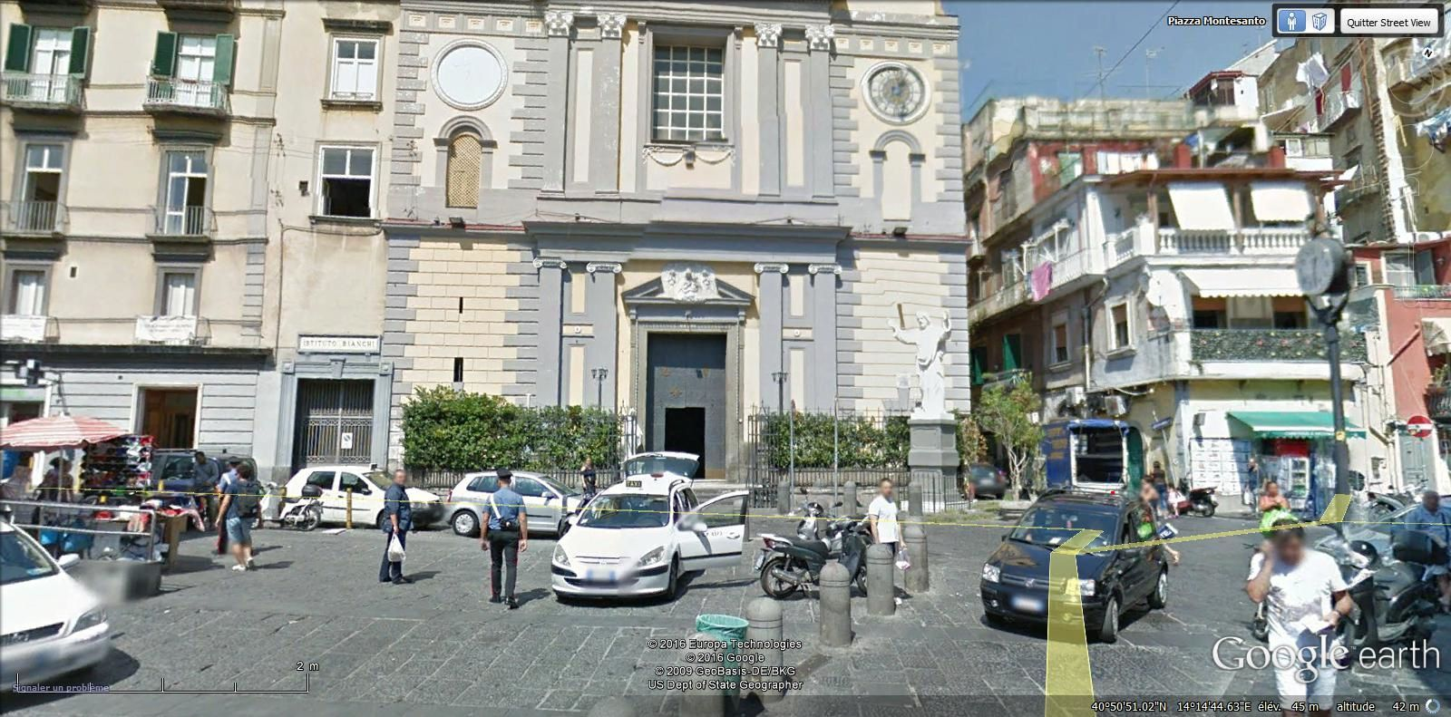 église Santa Maria a Montesanto SMT