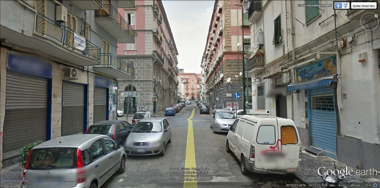 via Macedonio Melloni