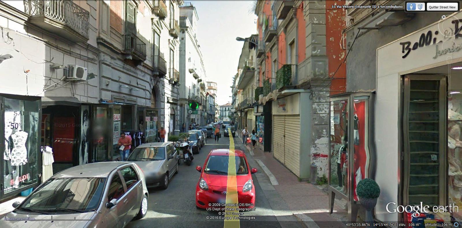 via Vittorio Emanuele III a Secondigliano