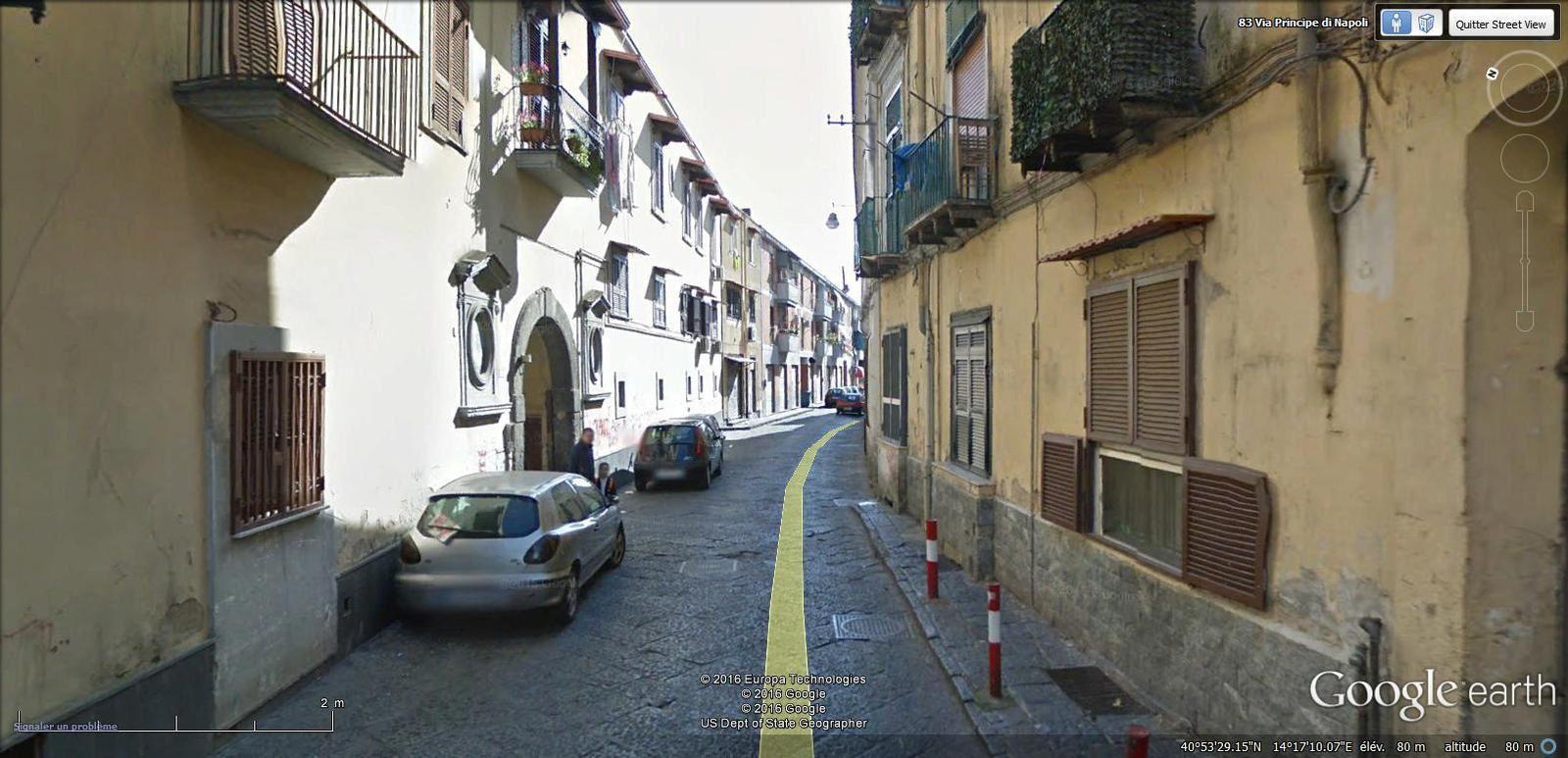 via Principe di Napoli