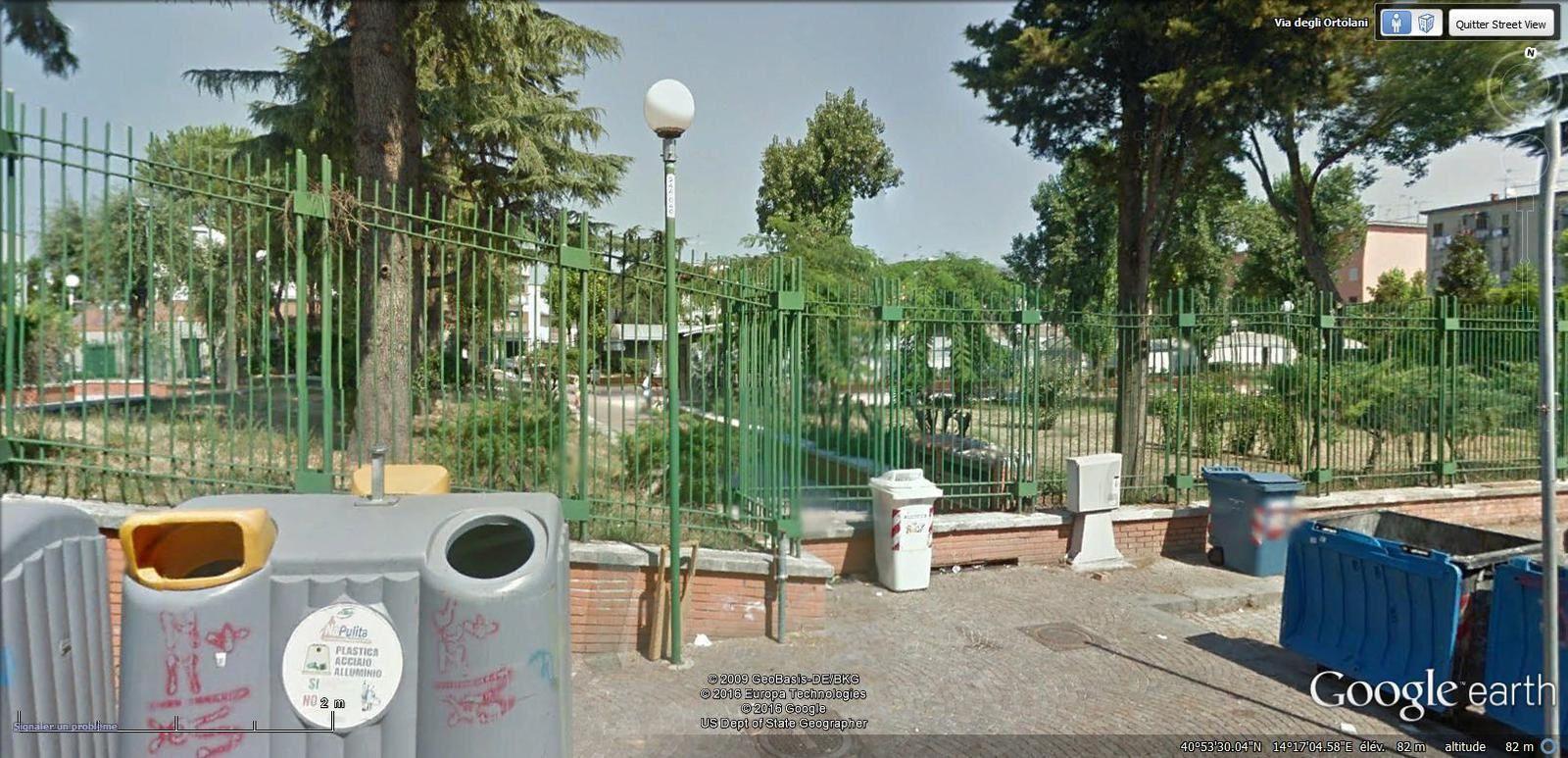 parc de la via degli Ortolani