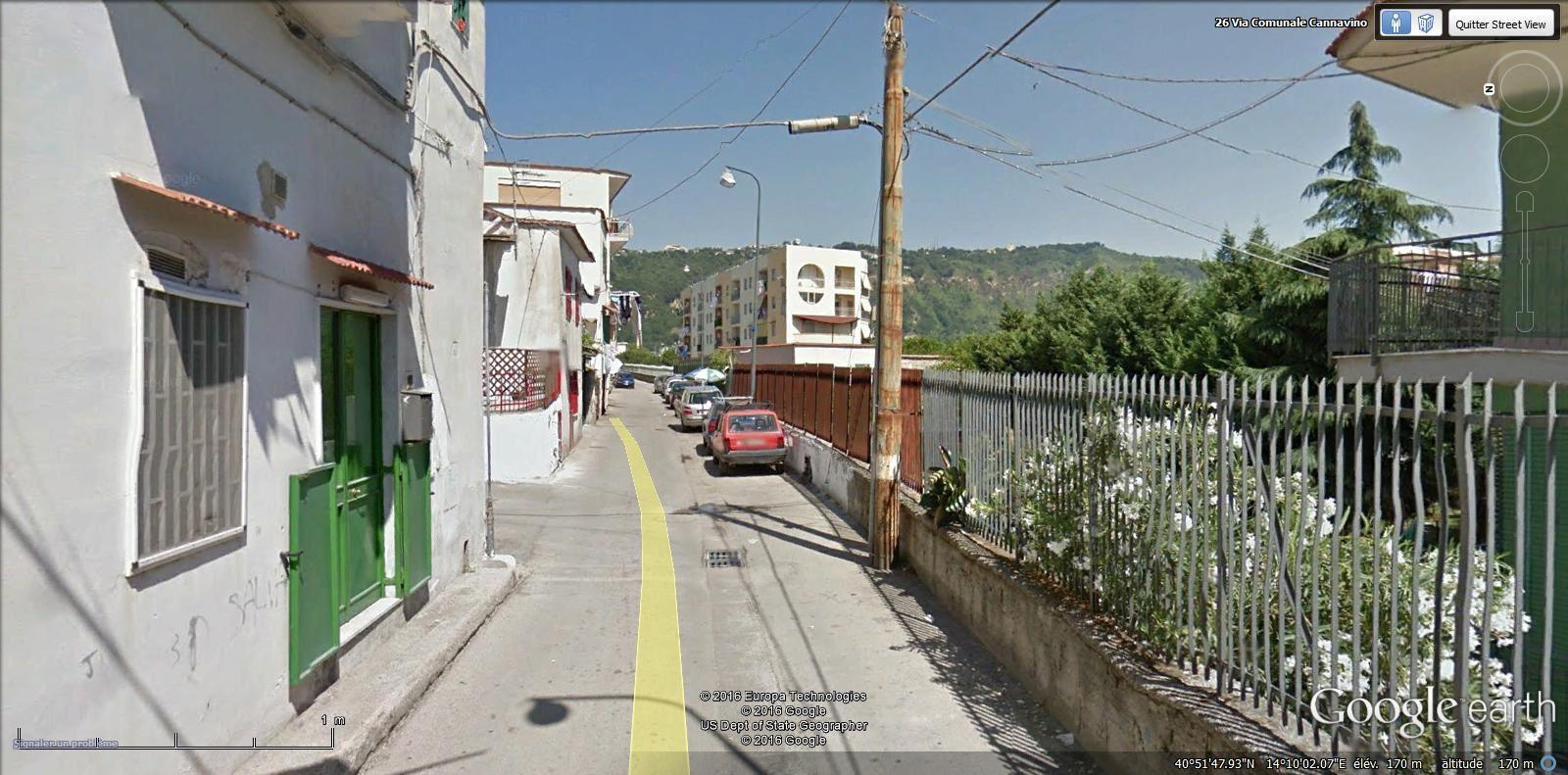 via comunale Cannavino