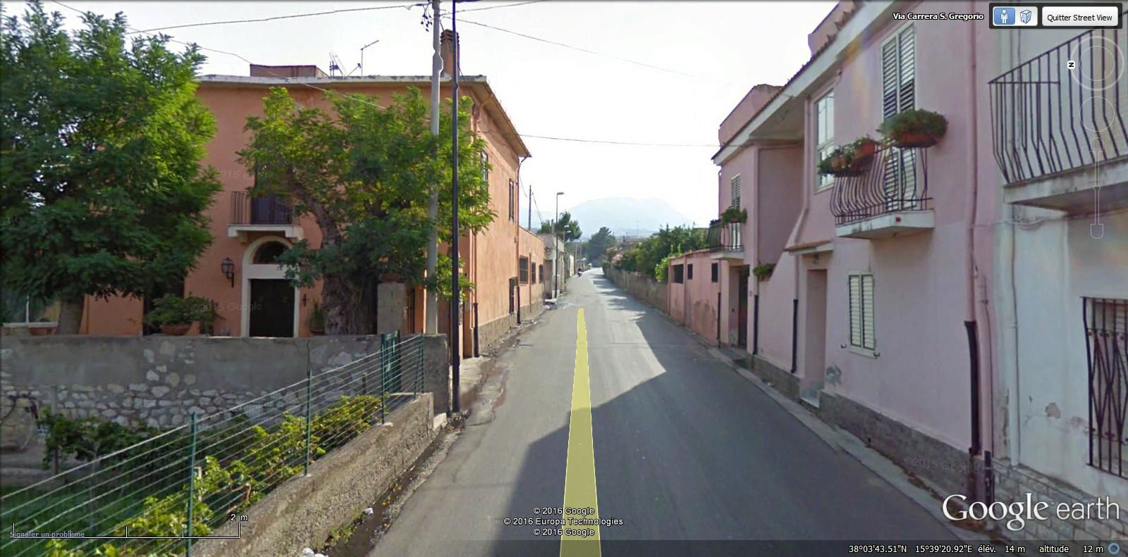 via Carrera San Gegorio