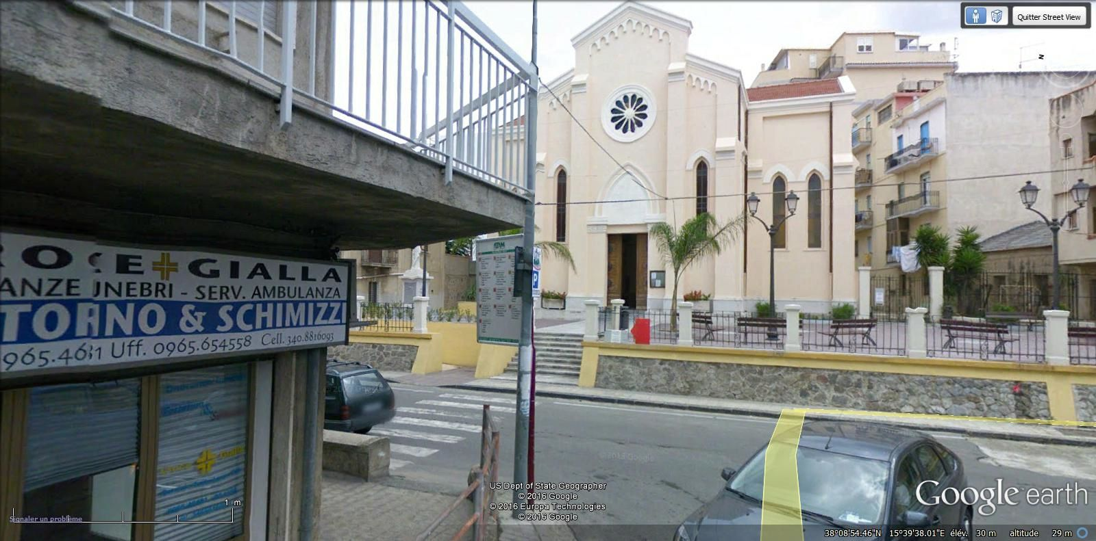 REGGIO CALABRE - 10e ardt  9.000 hab
