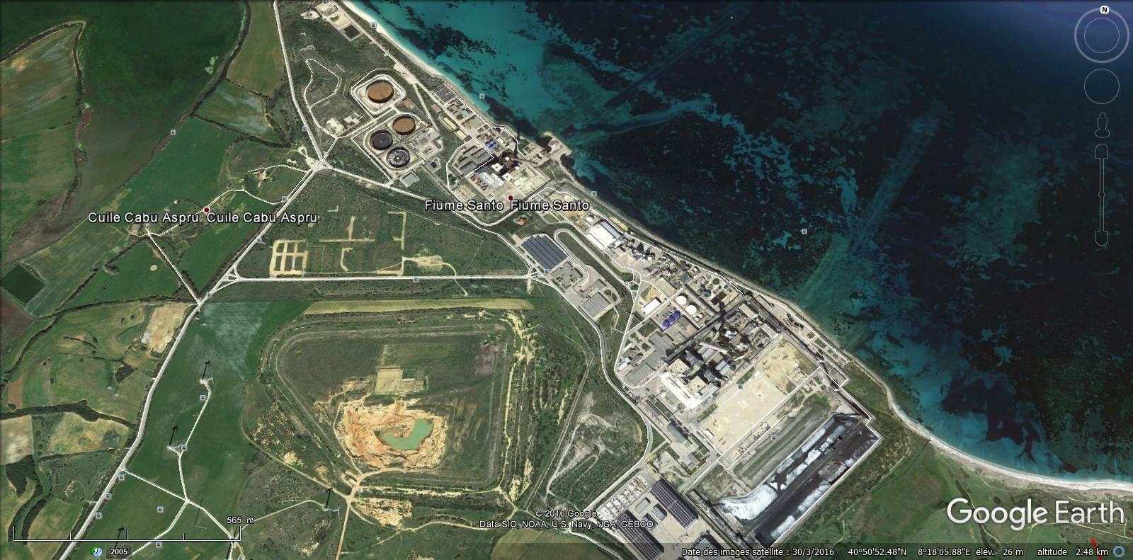 centrale electrique ( 25,5 km )