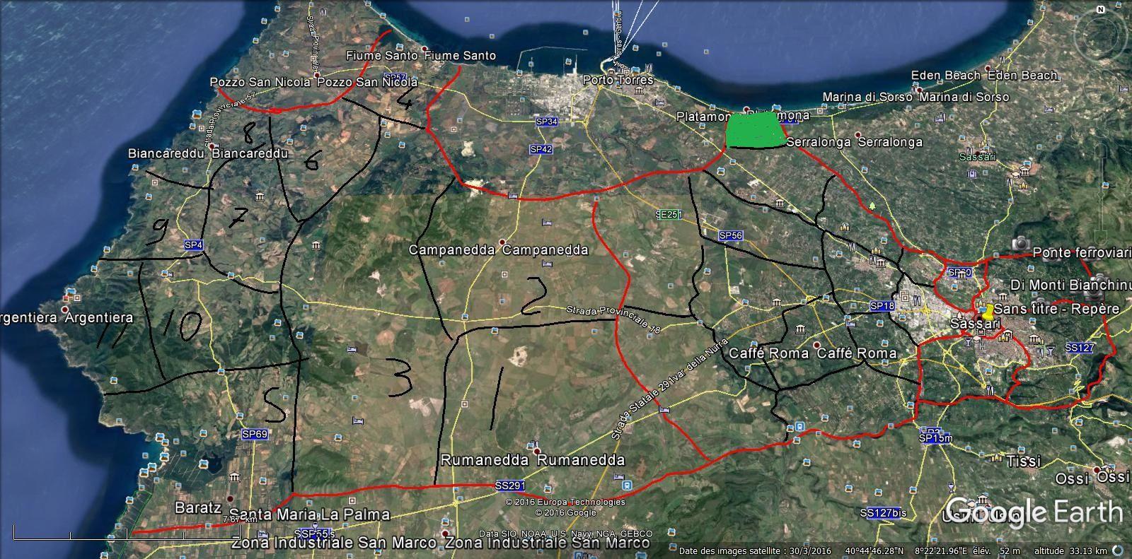 SASSARI-ZONE 6    25.000 hab