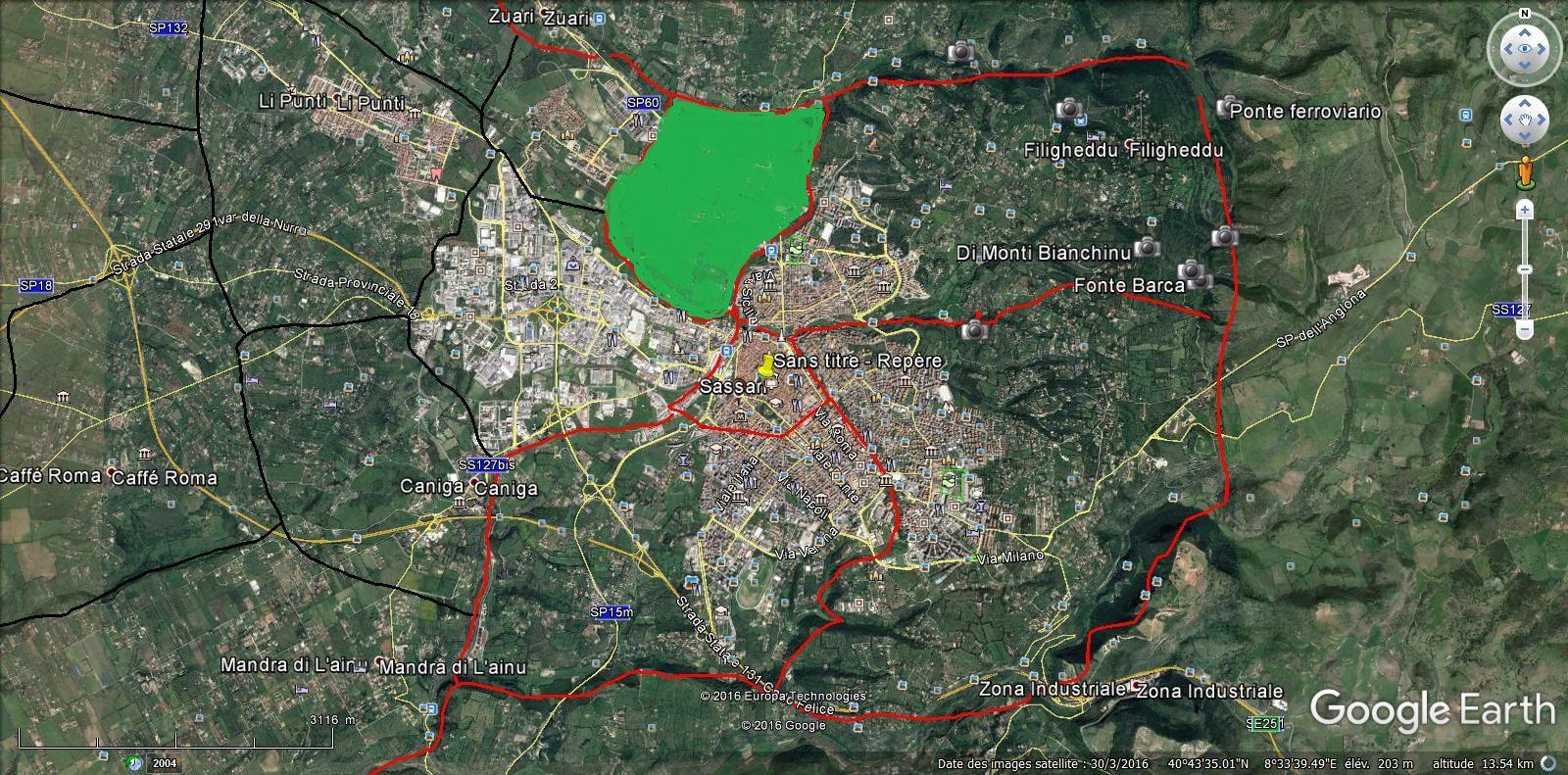 SASSARI-ZONE 5  14.000 hab