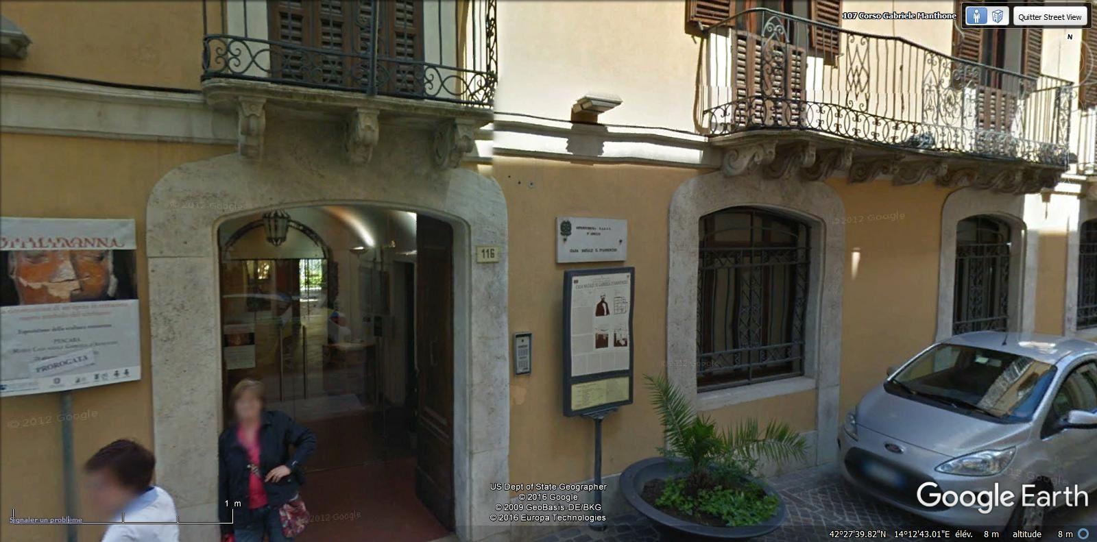 maison natale de D'Annunzio et musée SMT
