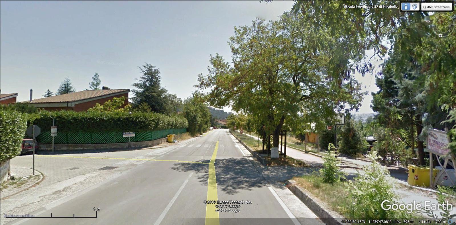 entrée dans la commune de Ferrazzano ( 3.400 hab ) ( 1,7 km )
