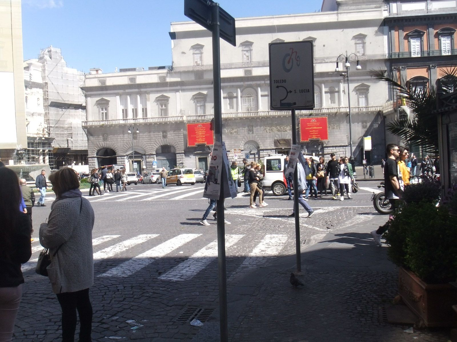 piazza Trieste et Trento SMT