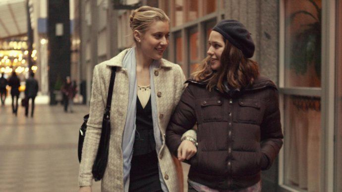 Greta Gerwig et Lola Kirke (copyright image The New Yorker)