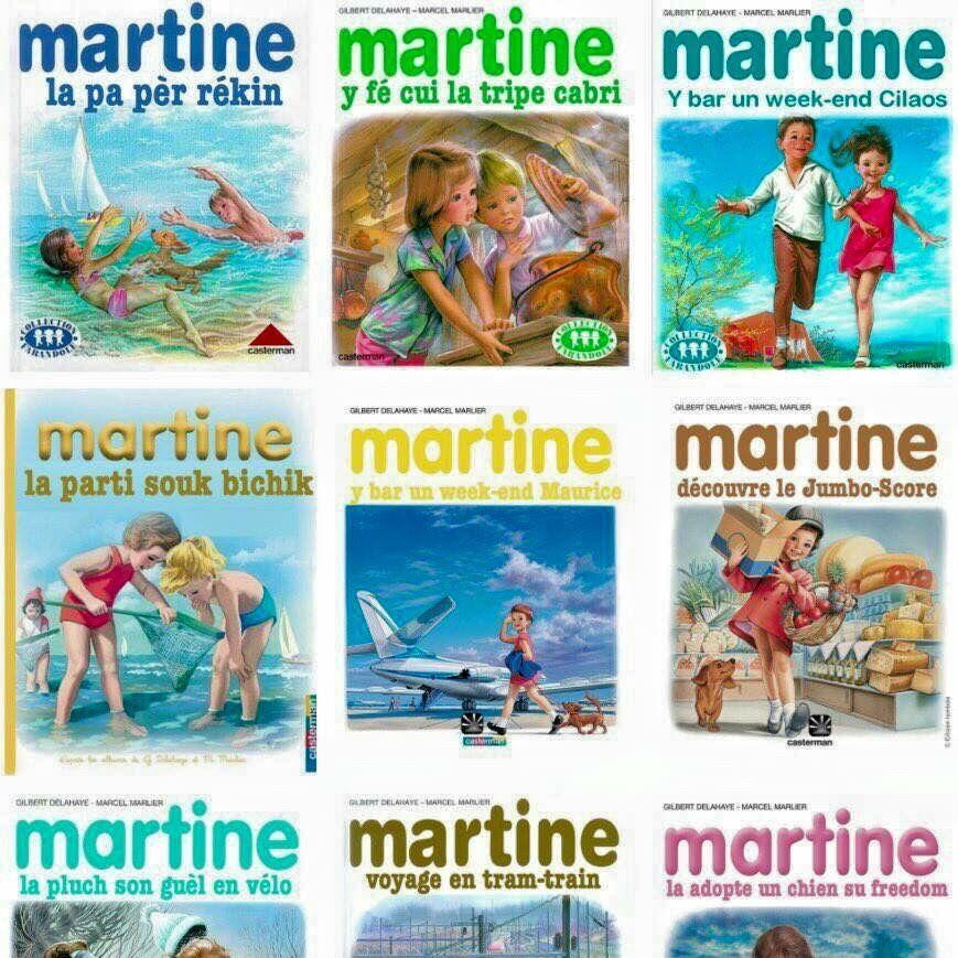 Martine En Creole Le Blog De Nostalgie974