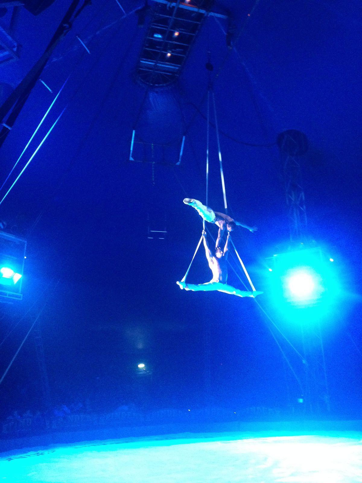 Sortie Cirque Pinder au zénith de Toulouse