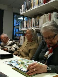 Sortie lecture à la médiathèque de Leguevin