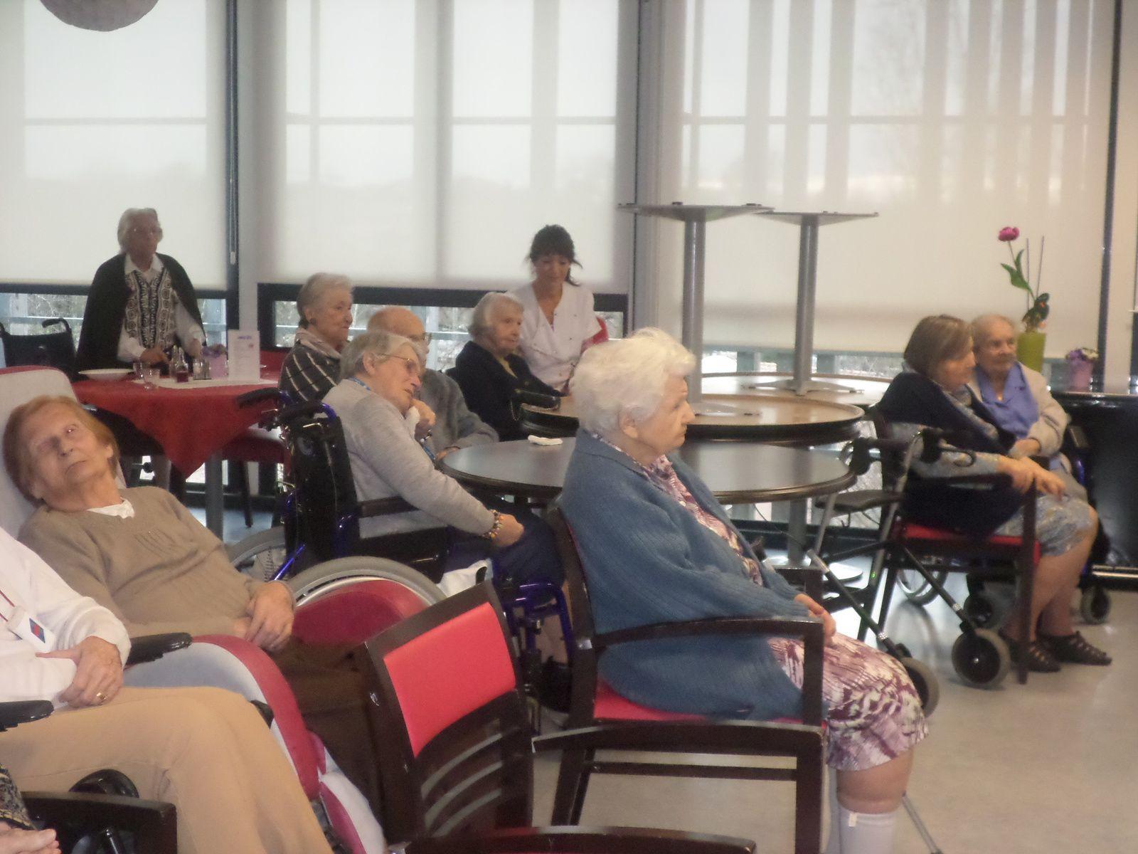 Concert à la maison de retraite