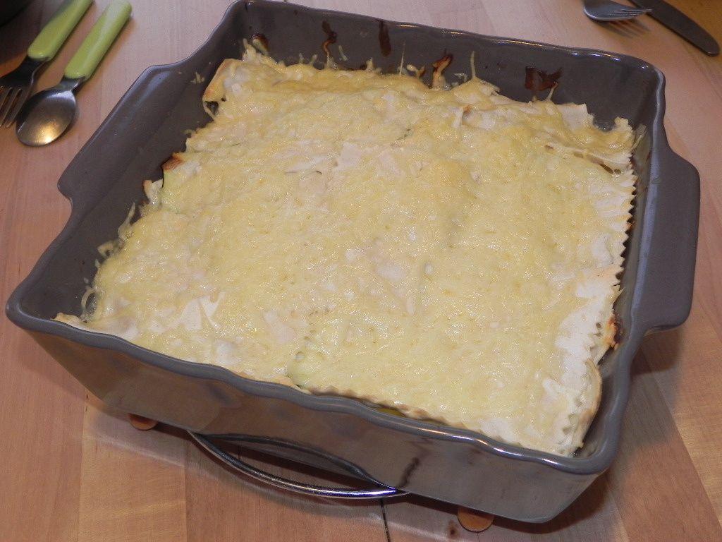 Lasagnes fromagères à la courgette