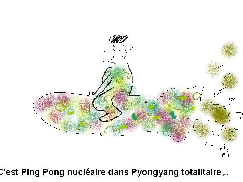 Pyongyang attaque