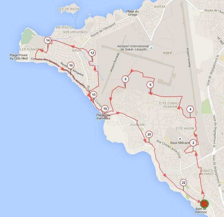 SL Trail du samedi 30 avril 2016.