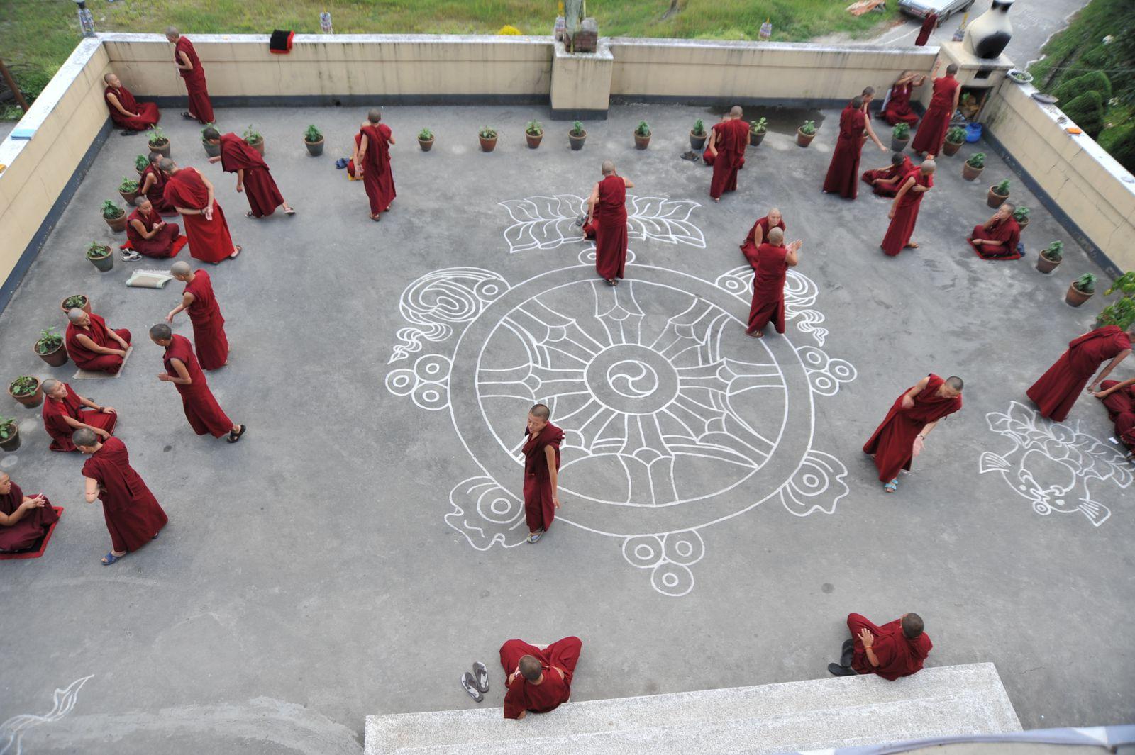 monastère de Kopan- Katmandou - Népal