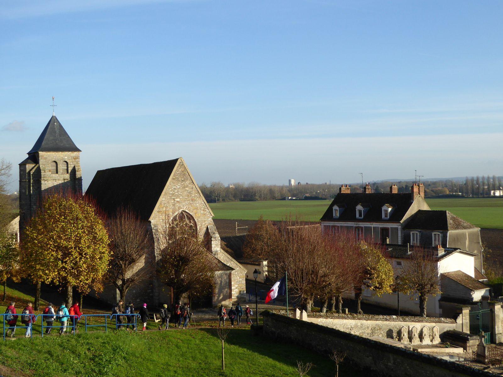 Randonnée de Champagne-sur-Seine à La Grande Paroisse 17 km - 2/2
