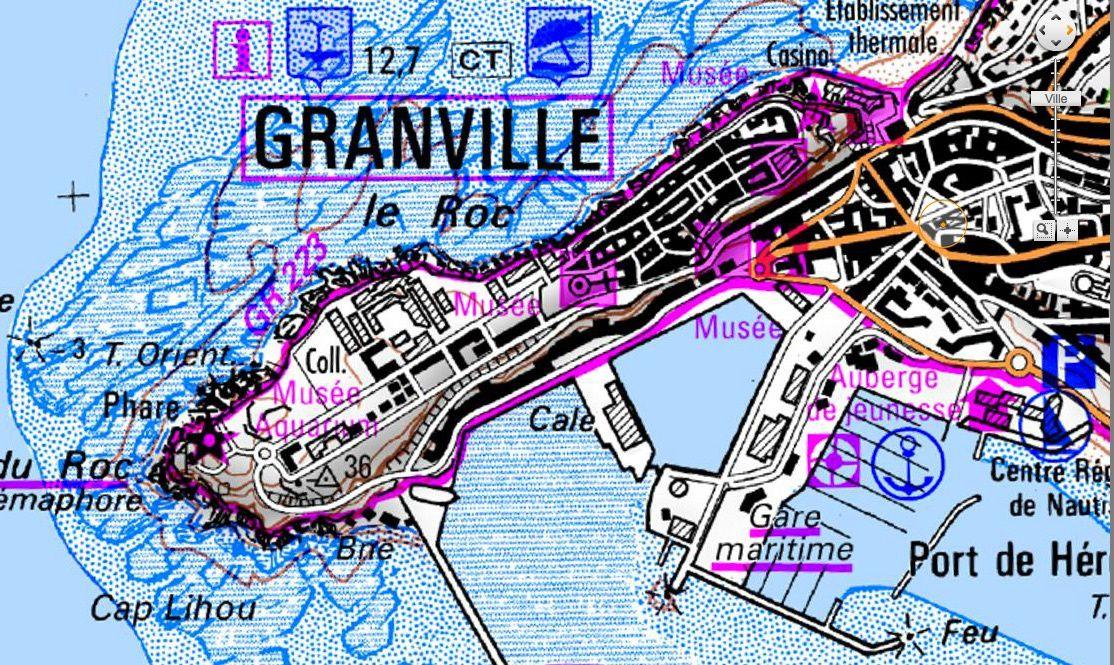 Promenade à Granville..