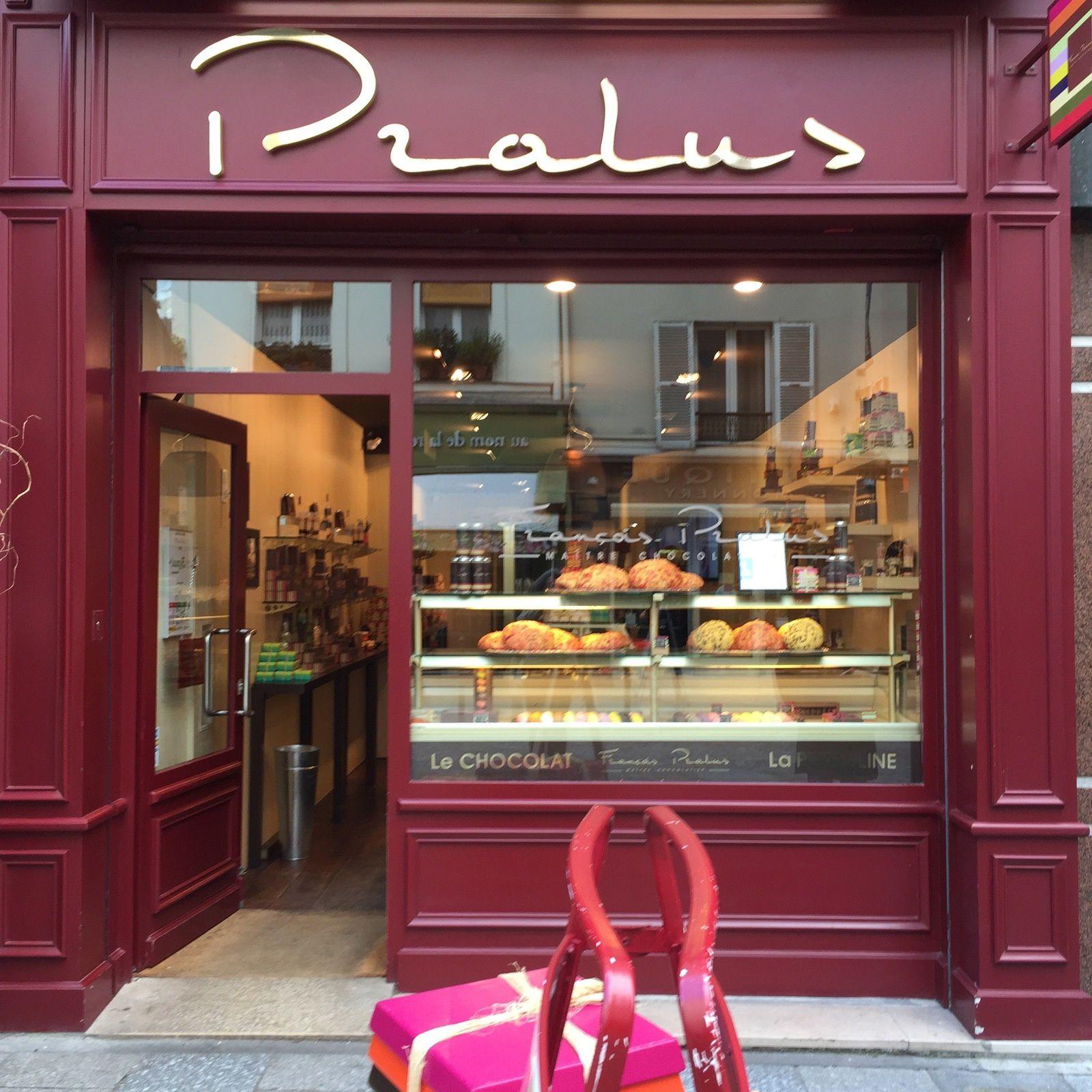 "Chocolatier ""Pralus""."