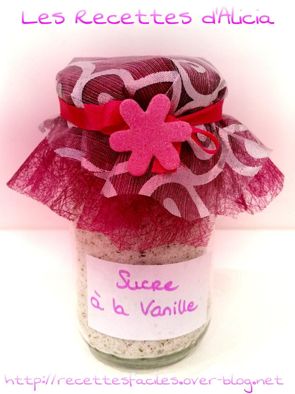 Sucre aromatisé vanille