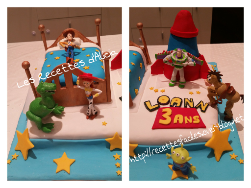 Gâteau anniversaire Toy Story