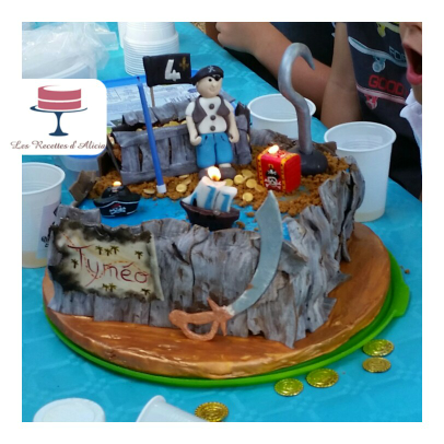 cake design pirate