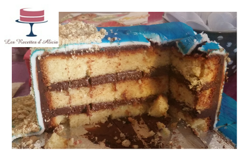 ganache chocolat cake design