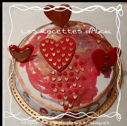 Gâteau tableau