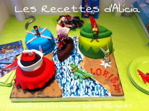 Gateau Jack le pirate