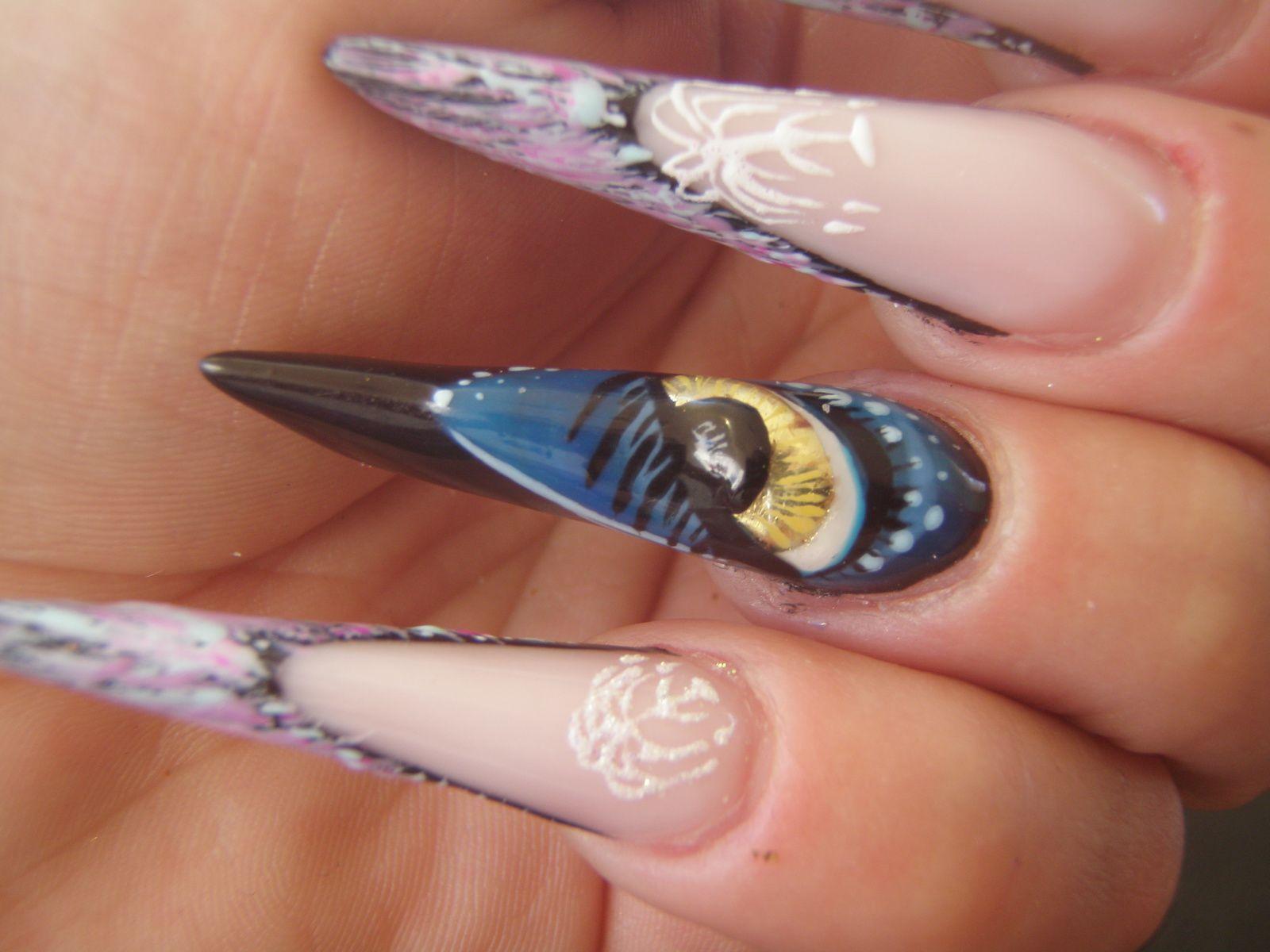 Concours&quot&#x3B;AVATAR&quot&#x3B;de Nails Arc en ciel