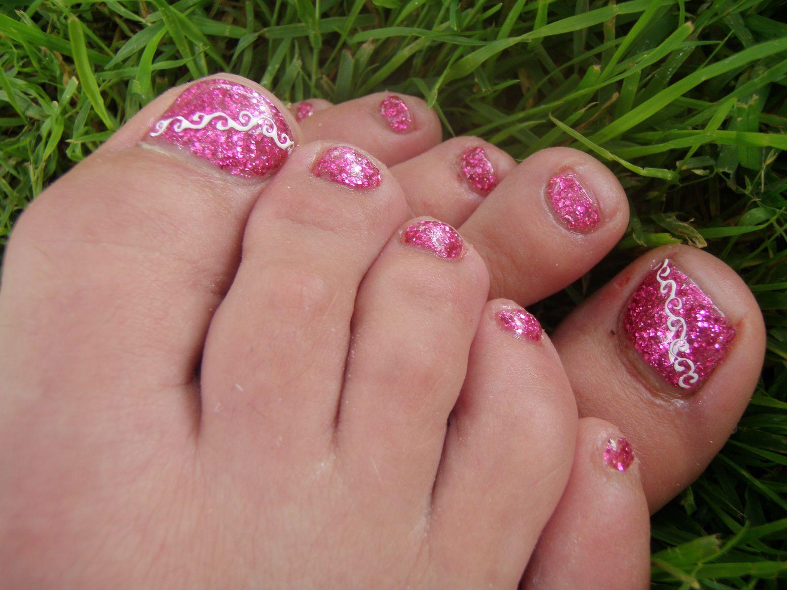 Pose pieds en gel &quot&#x3B;Nobly Pink&quot&#x3B;