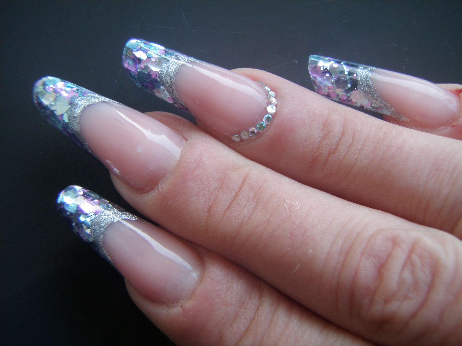 Star light silver Onglemod