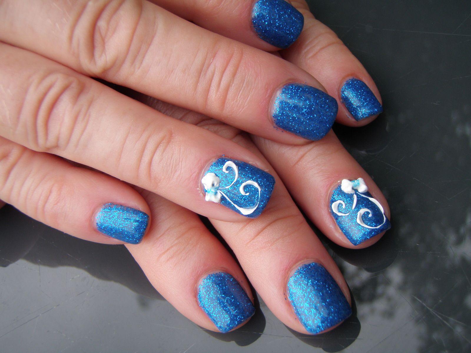 &quot&#x3B;Royal blue heliblau 7&quot&#x3B; avec Onglemod