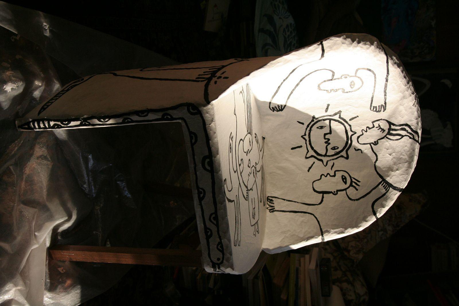 Ma chaise designée de mes dessins