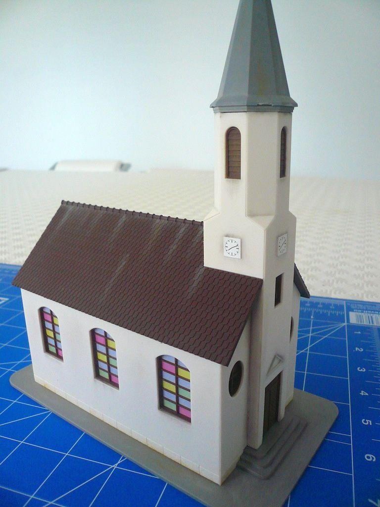 Réseau &quot&#x3B;Tortillard&quot&#x3B; - Une église