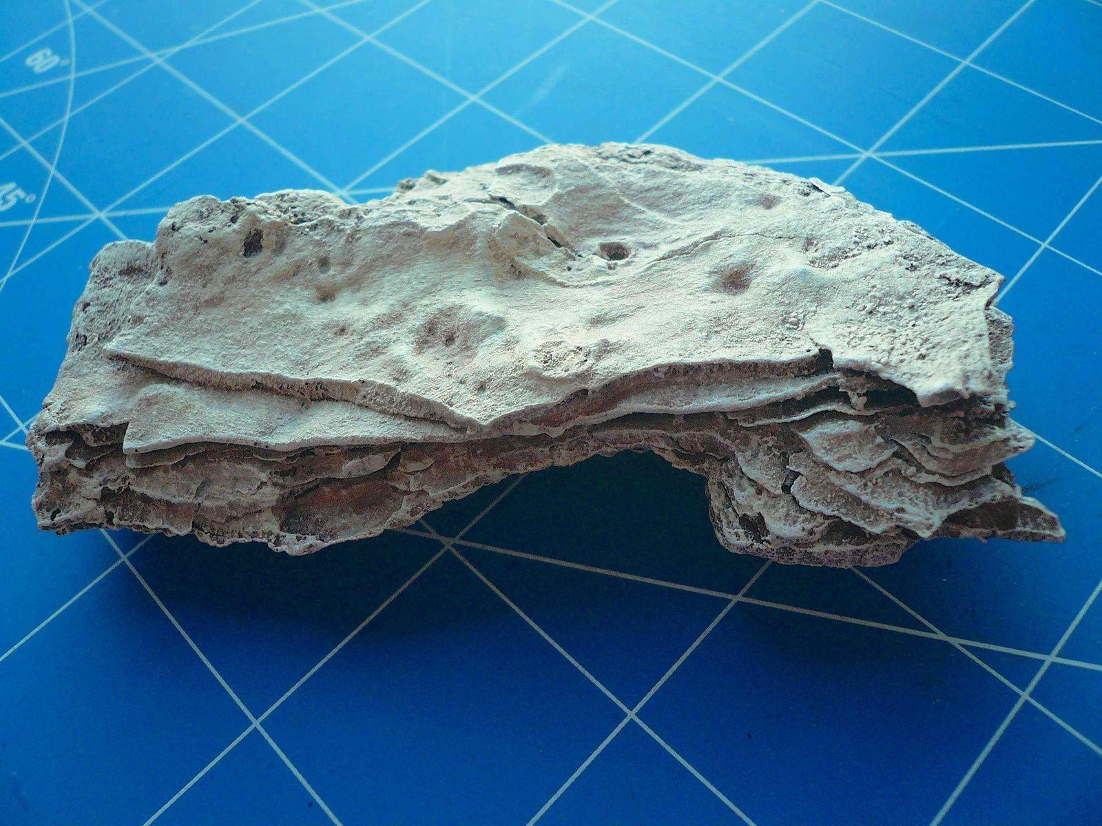 Fabrication de rochers en écorce