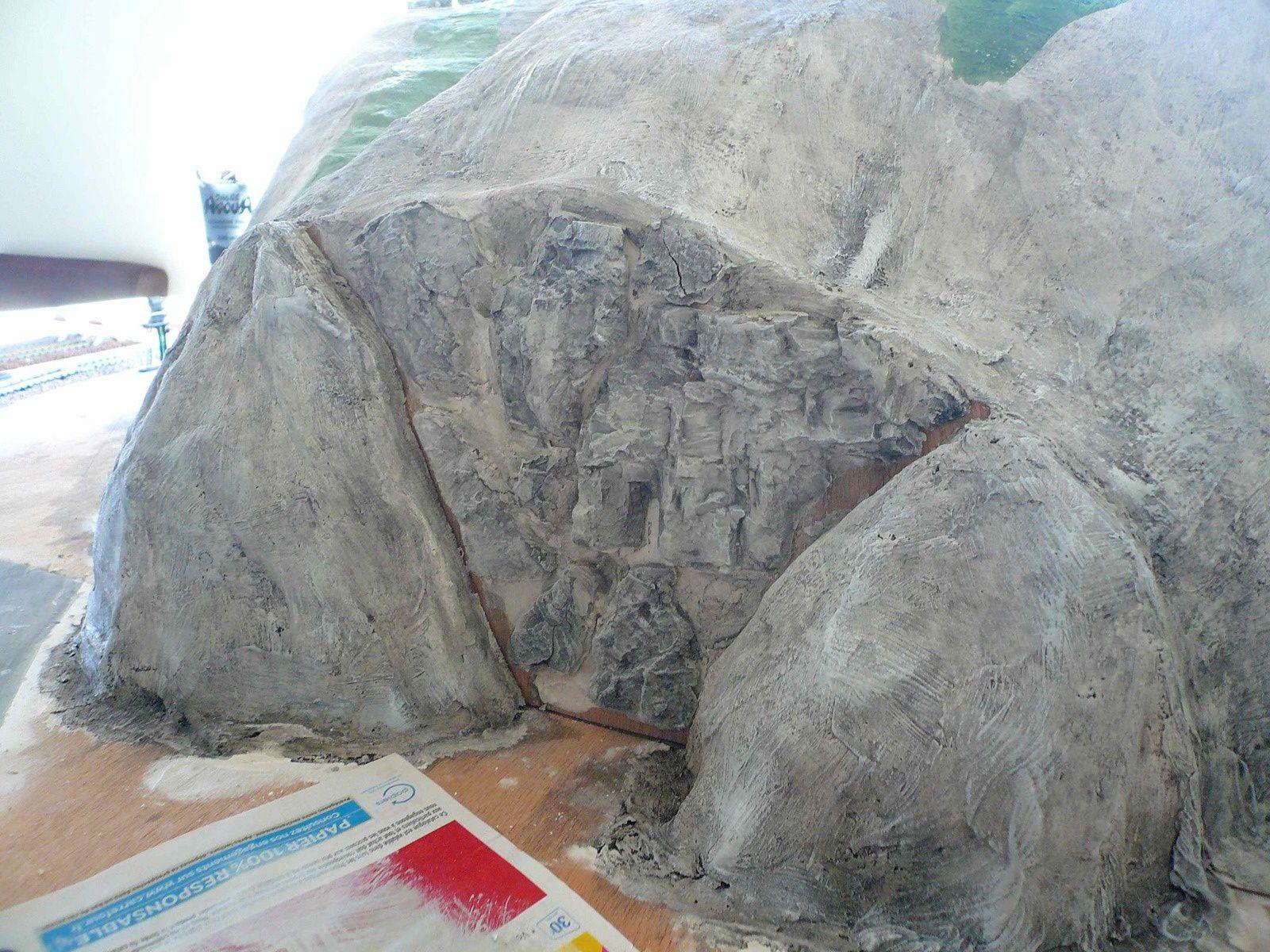 Réseau &quot&#x3B;Dépôt en montagne&quot&#x3B; - Mise en peinture de la montagne