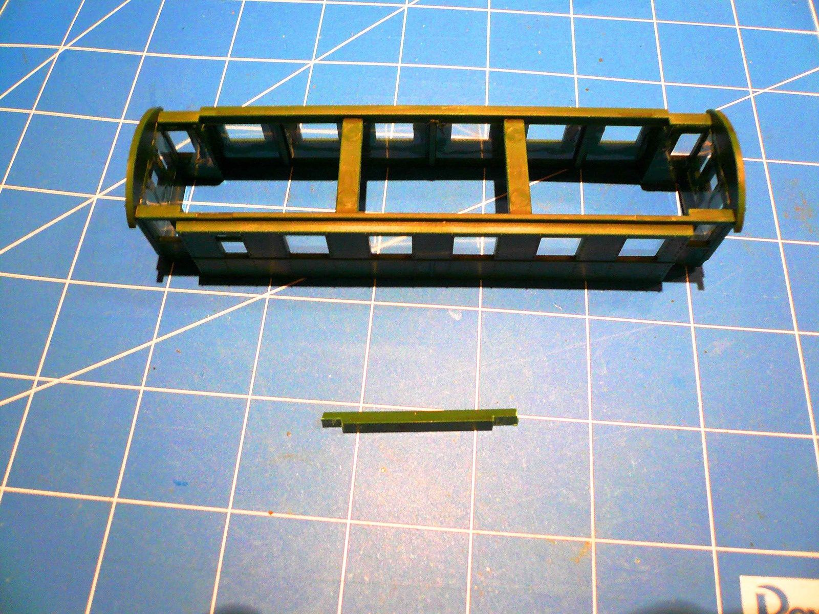 Réseau &quot&#x3B;Double voie&quot&#x3B; - construction du poste d'aiguillage