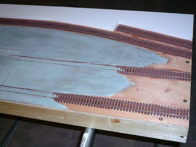 Diorama &quot&#x3B;Dépôt de Châteauroux - Confection du quai (1)