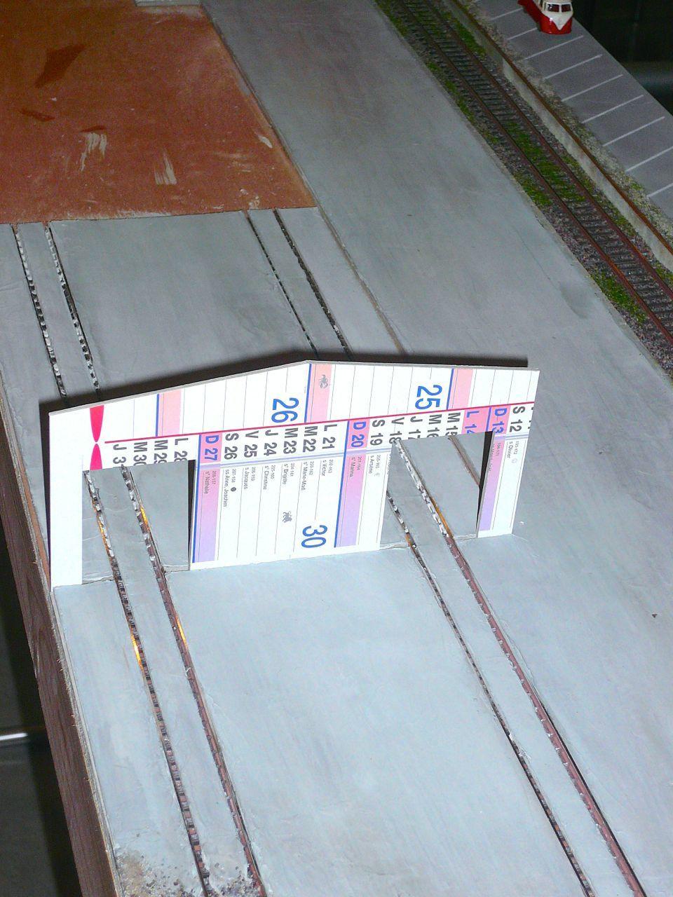 Diorama &quot&#x3B;Dépôt de Chateauroux&quot&#x3B; - Construction des bâtiments (1)
