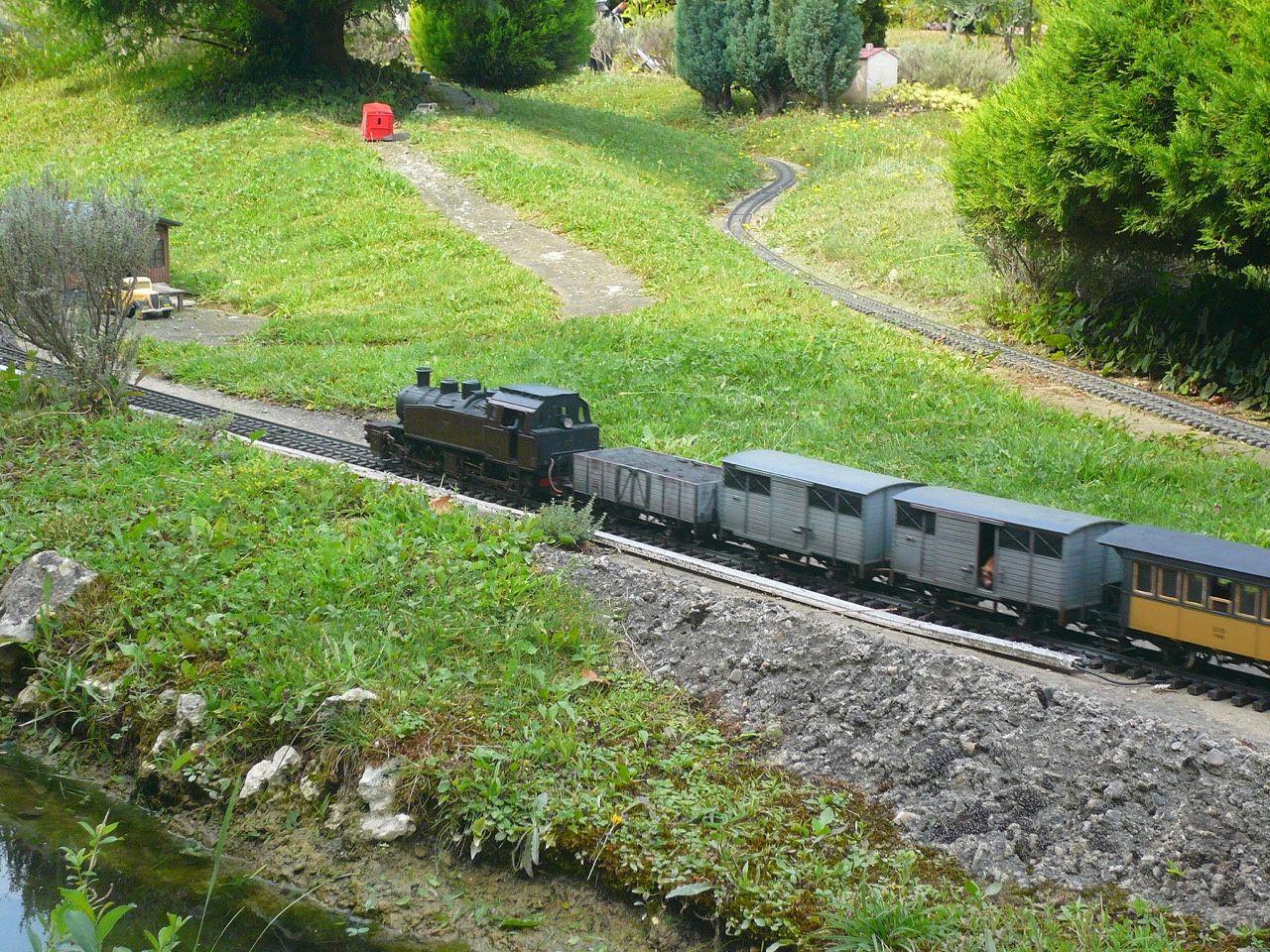 Jardins des trains ardéchois