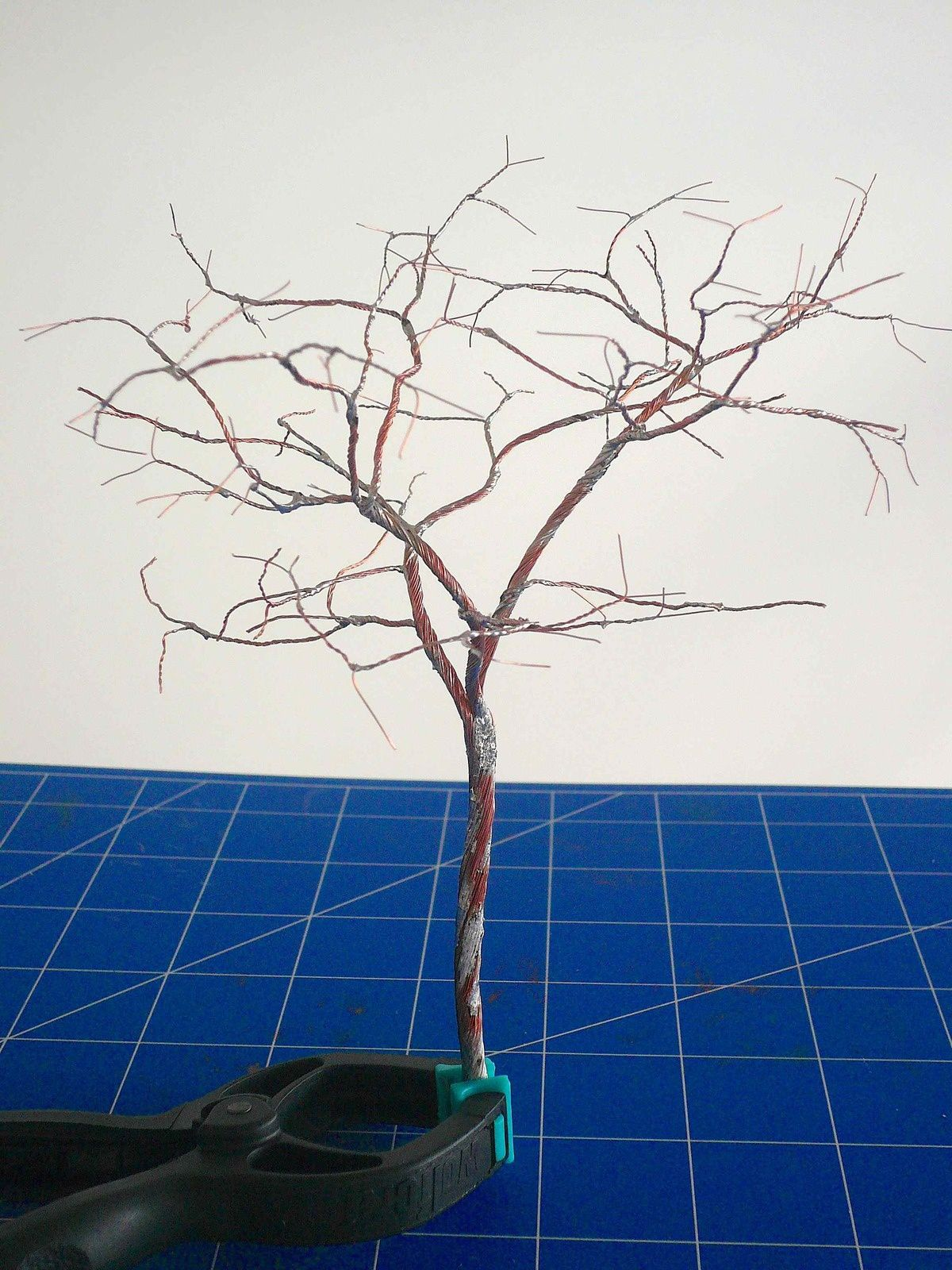Fabrication d'un arbre - 1er essai