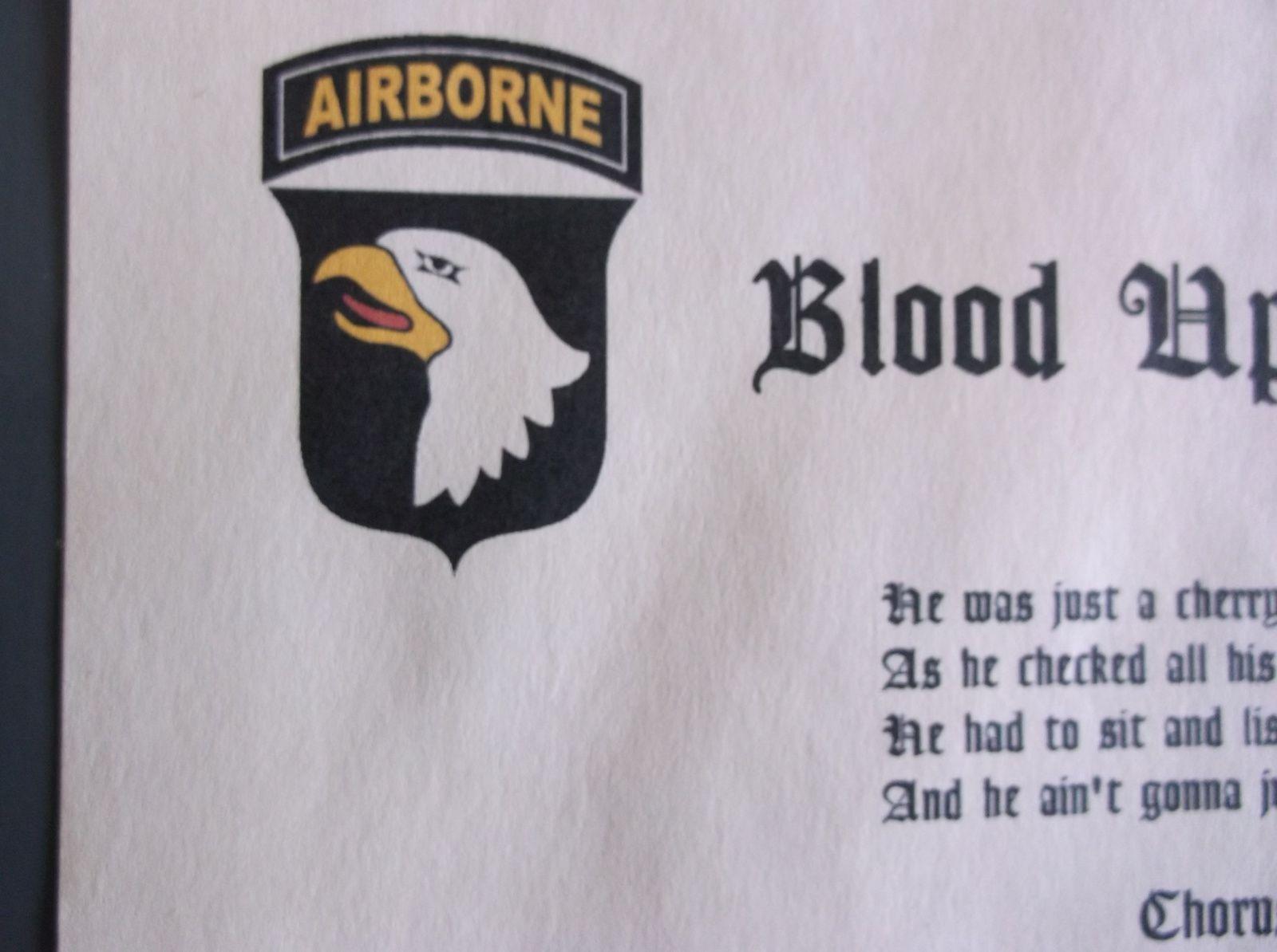 WW2 US PARATROOPER 101st AIRBORNE 82nd AIRBORNE - wittmann
