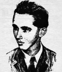 Marcel Herz est un poète résistant, qui a été executé avec son frère Norbert et son père Ladislav.