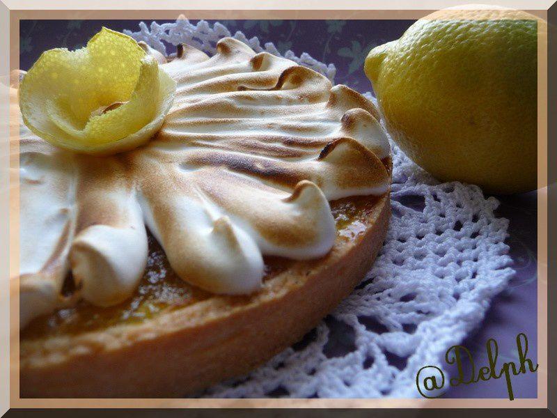 Tarte au citron.