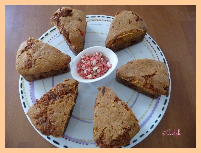 Cake Aux Pralines Roses Thermomix